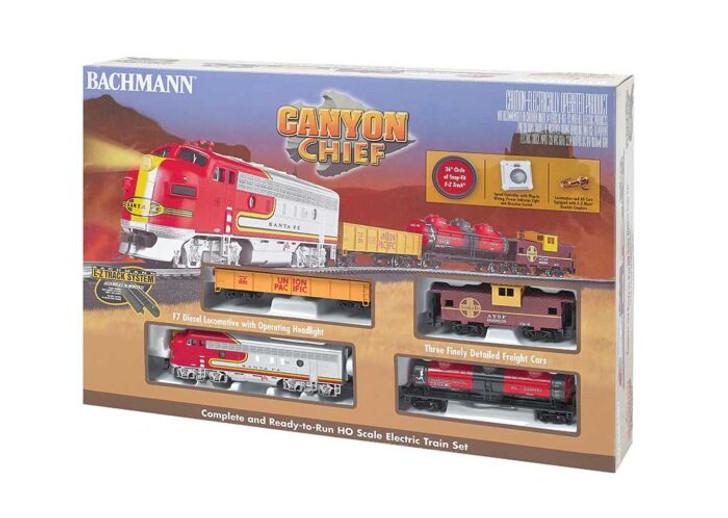 Canyon Chief Train Set -- Atchison, Topeka & Santa Fe
