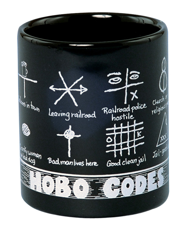 Hobo Codes Ceramic Mug