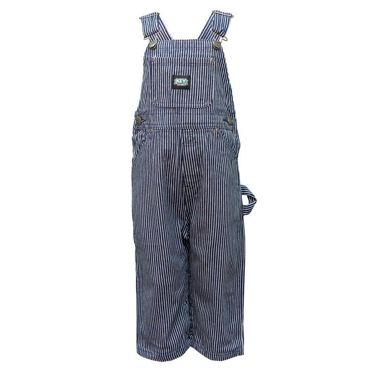 Key Kid's Hickory Stripe Bib Overall size 4