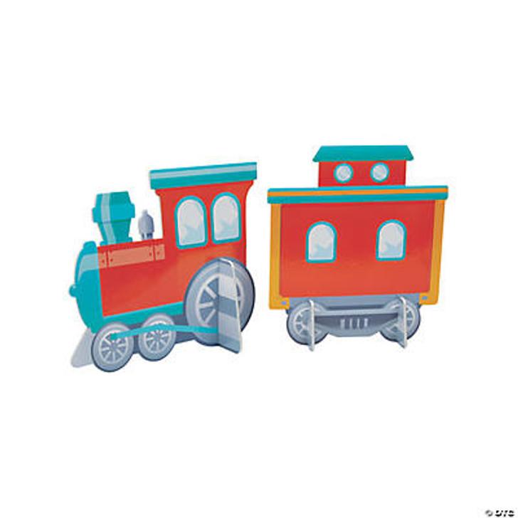 3D Train Centerpiece Set