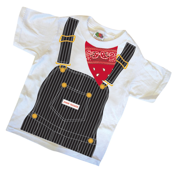 Engineer Uniform Youth T-Shirt - Size SMALL (6-8)