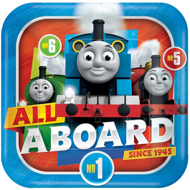 Thomas & Friends Full Steam Ahead Dinner Plates (9 inch)