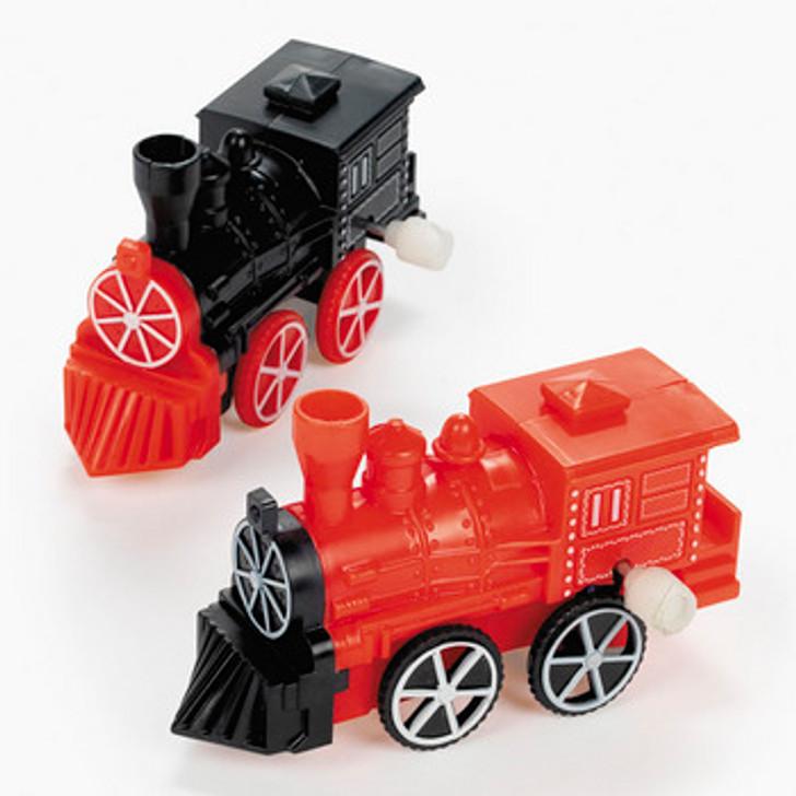 Plastic Wind-Up Choo-Choo Train