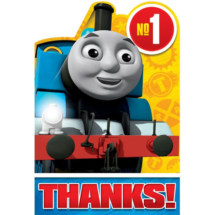 Thomas & Friends Full Steam Ahead Thank You Notes Cards