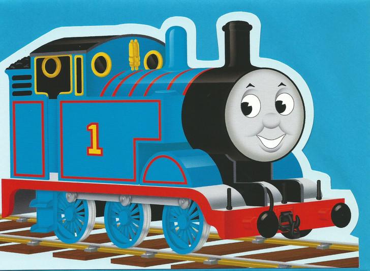 Thomas Die-Cut Card