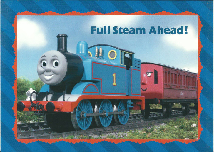 Thomas Full Steam Ahead Greeting Card