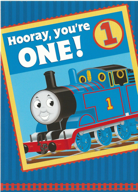 Hooray, You're One!