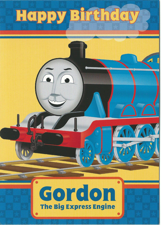 Gordon - The Big Express Engine Birthday Card