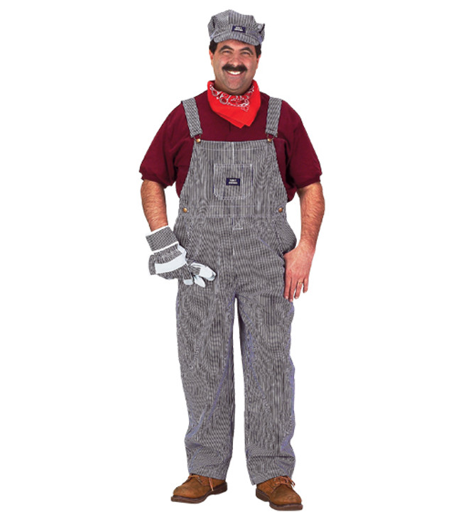 Adult Train Engineer Costume Large - Male