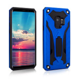 Samsung Galaxy S9 Case, Armour Strong Shockproof Cover with Kickstand, Blue | Armor Samsung Galaxy S9 Cases | Armor Samsung Galaxy S9 Covers | iCoverLover