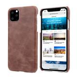 iPhone 11 Pro Max Case Coffee Elegant Genuine Leather Back Shell Cover   iPhone 11 Pro Max Genuine Leather Covers   iPhone 11 Pro Max Leather Cases   iCoverLover