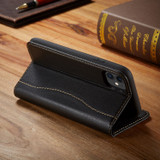 iPhone 11 Pro Max Case Fierre Shann Genuine Cowhide Leather Cover