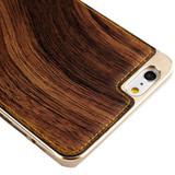 Brown Wood Texture Metal iPhone 6 & 6S Case | iPhone 6 & 6S Cases Australia | Metallic iPhone 6 & 6S Cases | iCoverLover