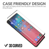Black Samsung Galaxy S10+ Plus, S10 Full 3D Tempered Glass Screen Protector | iCoverLover
