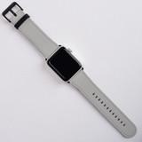 Apple Watch Band (42mm) Series 1, 2, 3 & 4 Vegan Leather Strap iWatch Grey