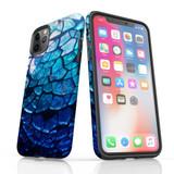 iPhone 11 Pro Max/11 Pro/11, XS Max/XS/X, 8 Plus/8, 7 Plus/7, 6/6s Plus, SE/5S/5 Protective Case, Blue Mirror | iCoverLover Australia