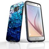 d-mirror-bowl-2 For Samsung Galaxy S7 Edge Tough Case Black In Matte