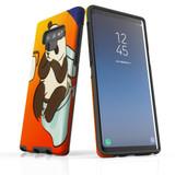 d-panda-toilet For Samsung Galaxy Note 9 Tough Case In Matte