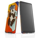 d-panda-toilet For Samsung Galaxy Note 8 Tough Case In Matte