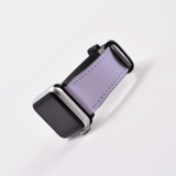 Apple Watch Band (44,42,40,38mm) Vegan Leather Strap Black Buckle, iWatch Lavender   iCoverLover