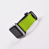 Apple Watch Band (44,42,40,38mm) Vegan Leather Strap Black Buckle, iWatch Light Green | iCoverLover