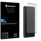 Black Samsung Galaxy S20 Ultra Full 3D Tempered Glass Screen Protector   iCoverLover