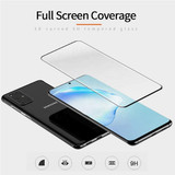 Black Samsung Galaxy S21 Ultra/S20/20+ Plus/20 Ultra Full 3D Edge to Edge Tempered Glass Screen Protector