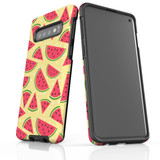 For Samsung Galaxy S10 Protective Case, Watermelon Pattern   iCoverLover Australia