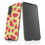 For Samsung Galaxy S20 Protective Case, Watermelon Pattern   iCoverLover Australia