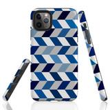 For iPhone 11 Pro Max Protective Case, Zigzag Chevron Pattern   iCoverLover Australia