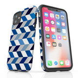 For iPhone 11 Protective Case, Zigzag Chevron Pattern   iCoverLover Australia