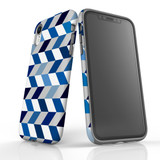 For iPhone XR Protective Case, Zigzag Chevron Pattern   iCoverLover Australia