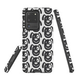 For Samsung Galaxy S7 Protective Case, Dog Head Pattern | iCoverLover Australia
