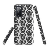 For Samsung Galaxy S10 Plus Protective Case, Dog Head Pattern | iCoverLover Australia