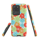 For Samsung Galaxy S10 5G Protective Case, Flowers Pattern | iCoverLover Australia