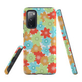 Samsung Galaxy S20 FE Case Protective Cover, Flowers | iCoverLover.com.au | Phone Cases