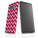 For Samsung Galaxy Note 8 Protective Case, Zigzag Magenta Pattern   iCoverLover Australia