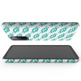 For Samsung Galaxy S10 5G Protective Case, Blue Candy Pattern | iCoverLover Australia