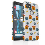 For Google Pixel 2 Protective Case, Dog Pattern   iCoverLover Australia