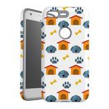 For Google Pixel 1 Protective Case, Dog Pattern   iCoverLover Australia