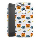 For Google Pixel 1 XL Protective Case, Dog Pattern   iCoverLover Australia