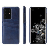 Samsung Galaxy S20+ Plus Case Blue Deluxe Wallet Cover |iCoverLover
