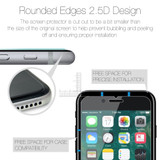 iCoverLover [2-Pack] iPhone SE (2020) Tempered Glass Screen Protector | iCoverLover