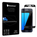 Black Samsung Galaxy S7 Full 3D Edge to Edge Tempered Glass Screen Protector | iCoverLover