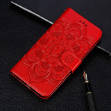 Samsung Galaxy S20 Case, Mandala Emboss Pattern PU Leather Wallet Cover | iCoverLover Australia