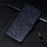 Samsung Galaxy S20 Case, Floral Lace Pattern PU Leather Wallet Cover   iCoverLover Australia