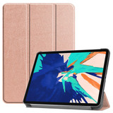 For iPad Pro 12.9in (2020) Smart Karst Holster, Rose Gold  | iCoverLover Australia