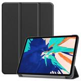 For iPad Pro 12.9in (2020) Smart Karst Holster, Black  | iCoverLover Australia