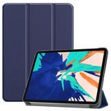 For iPad Pro 12.9in (2020) Smart Karst Holster, Navy  | iCoverLover Australia
