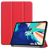For iPad Pro 12.9in (2020) Smart Karst Holster, Scarlet  | iCoverLover Australia